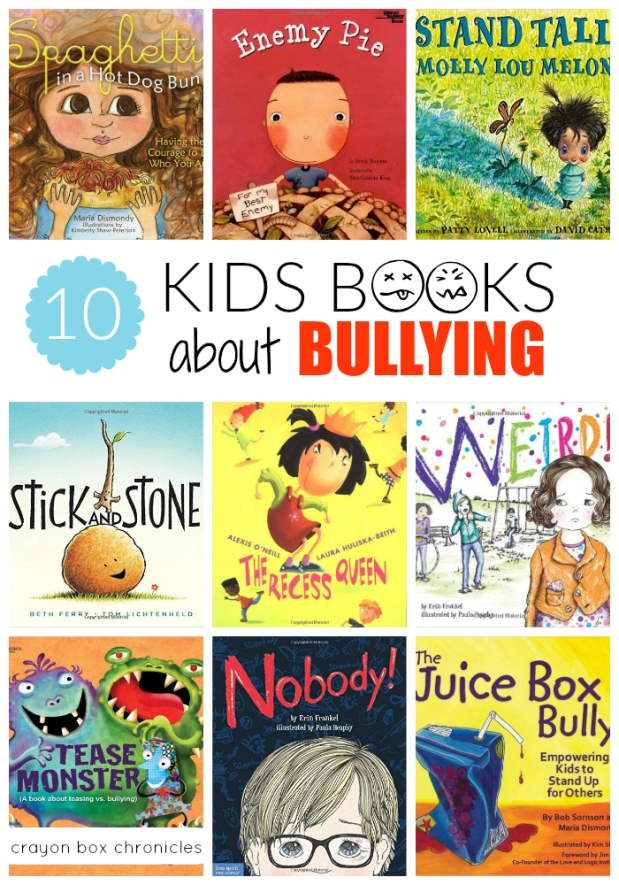 Books about bullying for young children